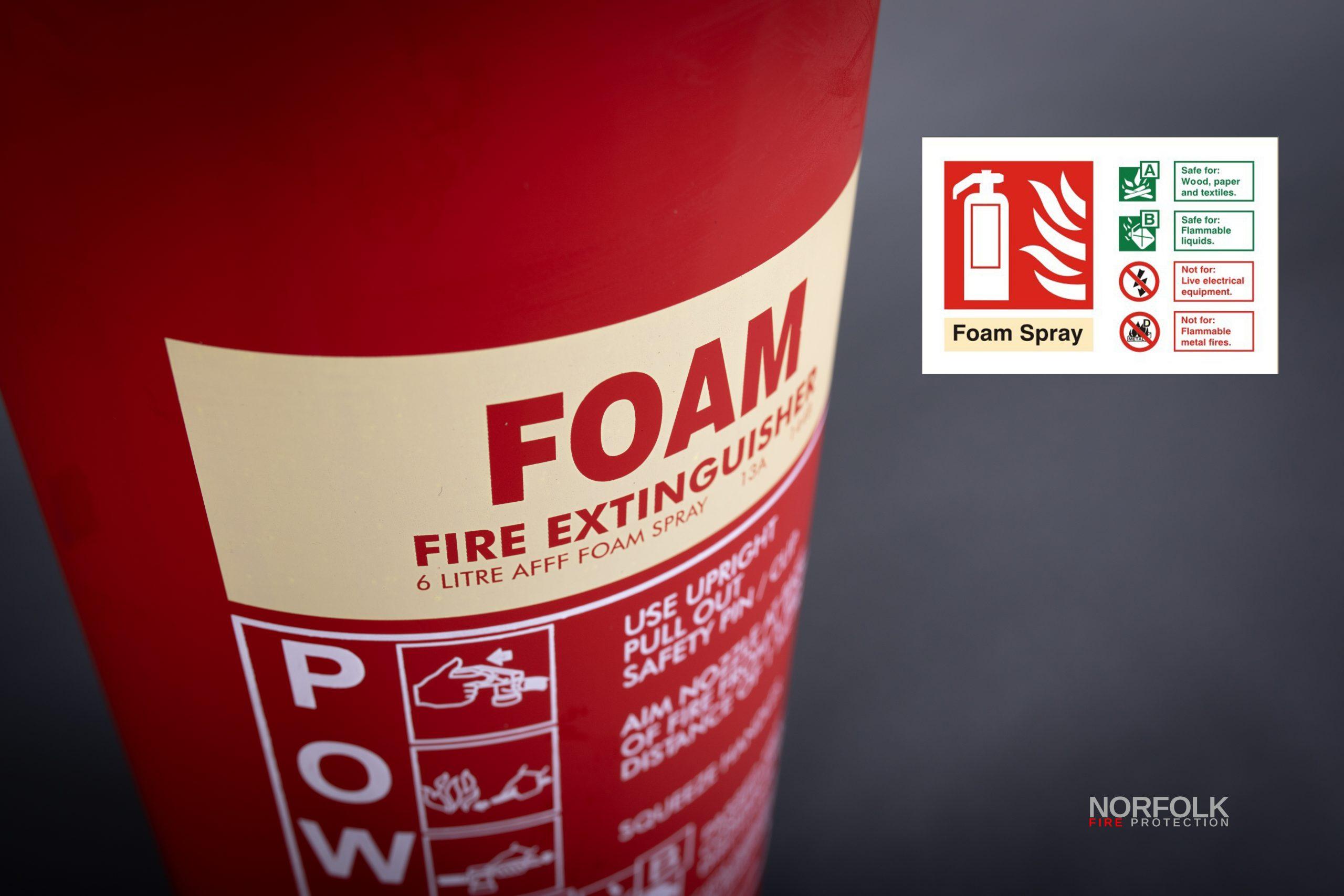 AFF Foam Extinguisher Norfolk