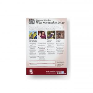 Health and Safety (HSE) Law Poster (A2)