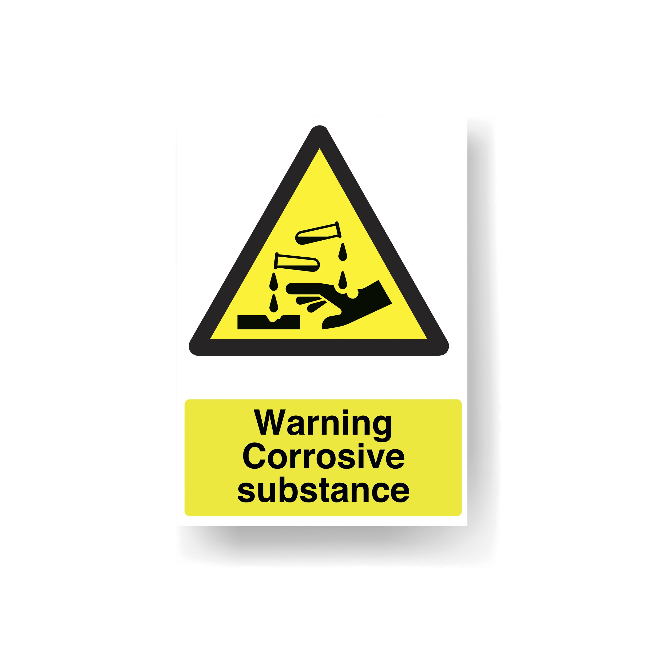Safety Signage Corrosive