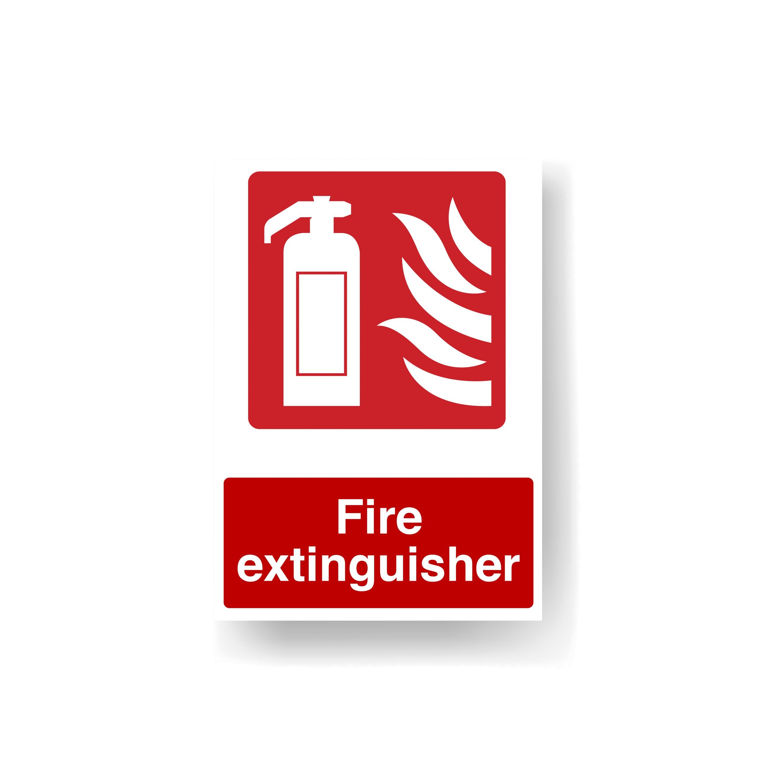 Fire extinguisher signage Norfolk Fakenham