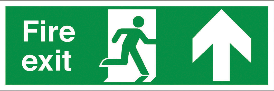 Fire Exit Sign Norfolk