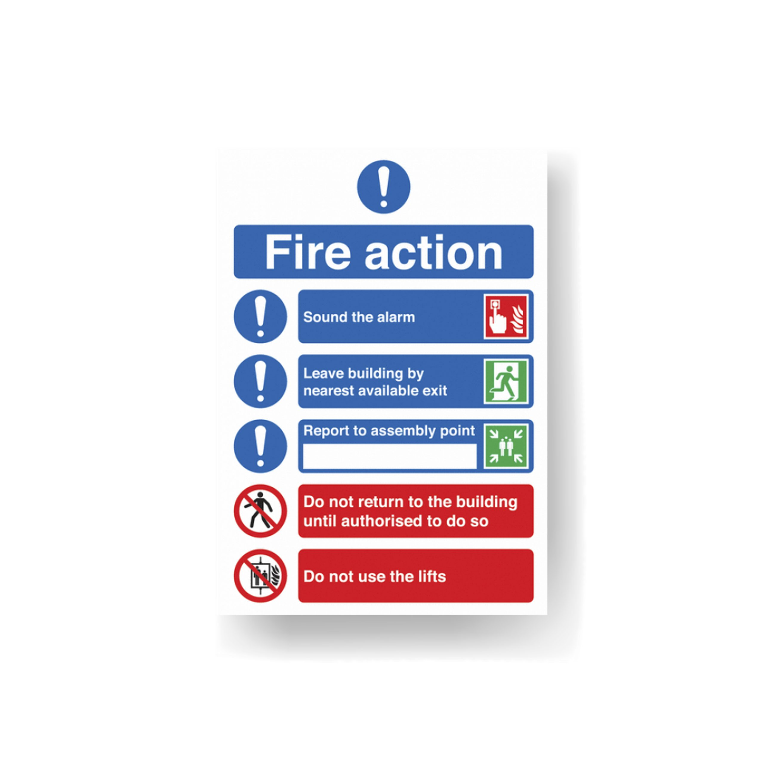 Fire signage norfolk