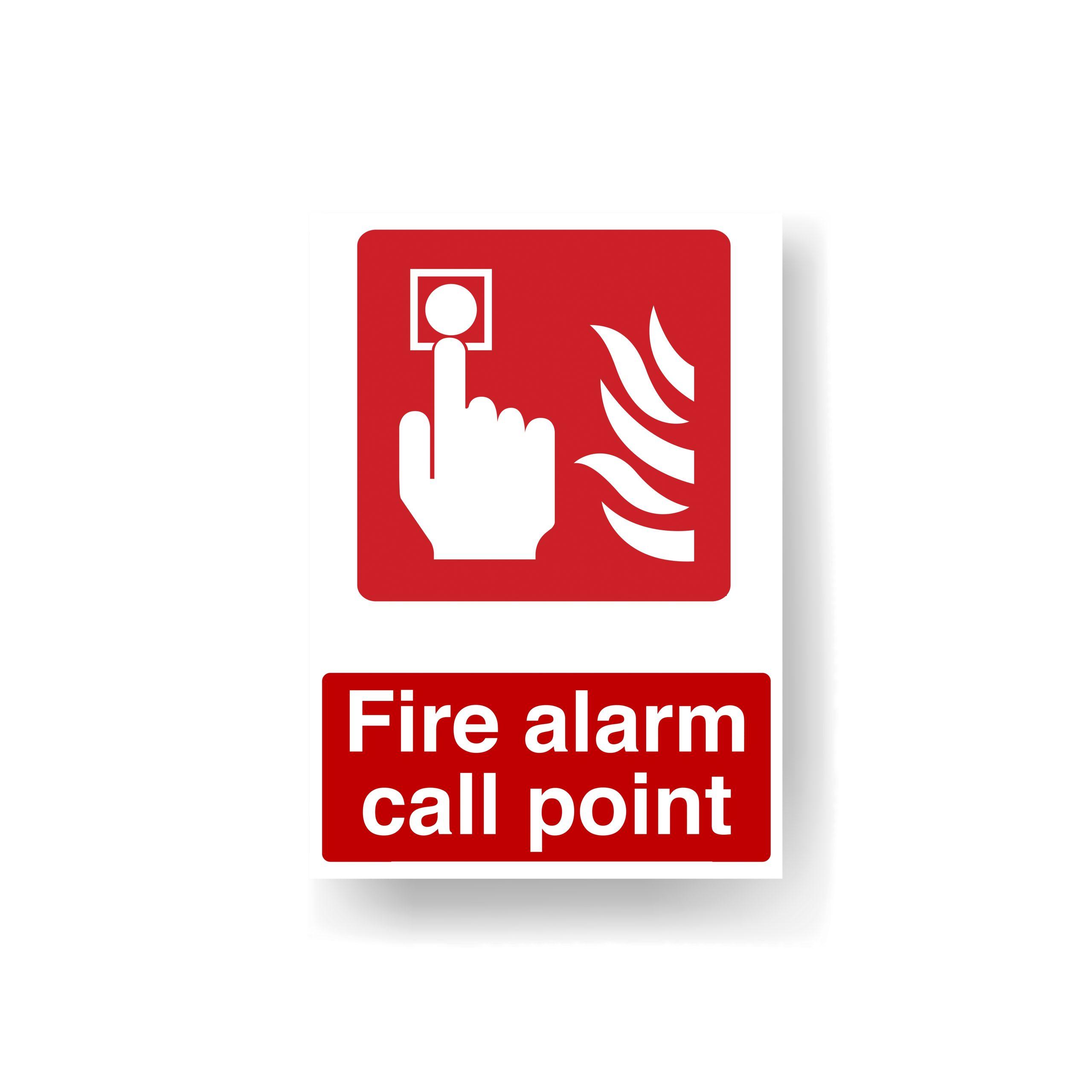 Norfolk Fire Alarm Sign