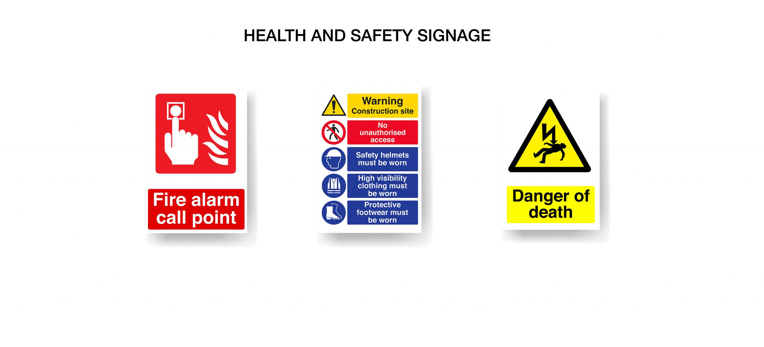 Health and Safety Signage Norfolk