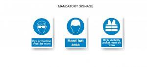 Mandatory Signage