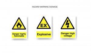 Hazard Warning Signage