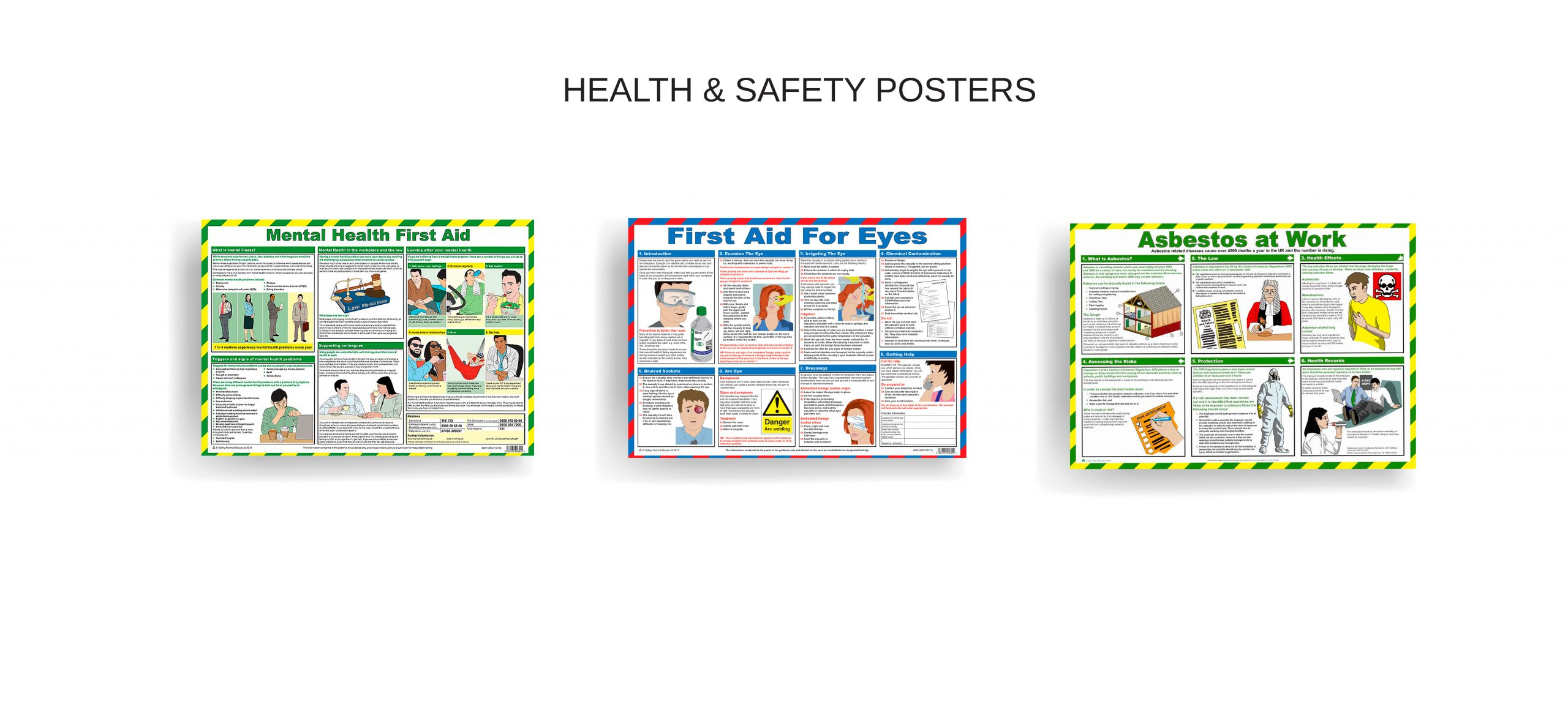 Health and safety posters Norfolk Fakenham