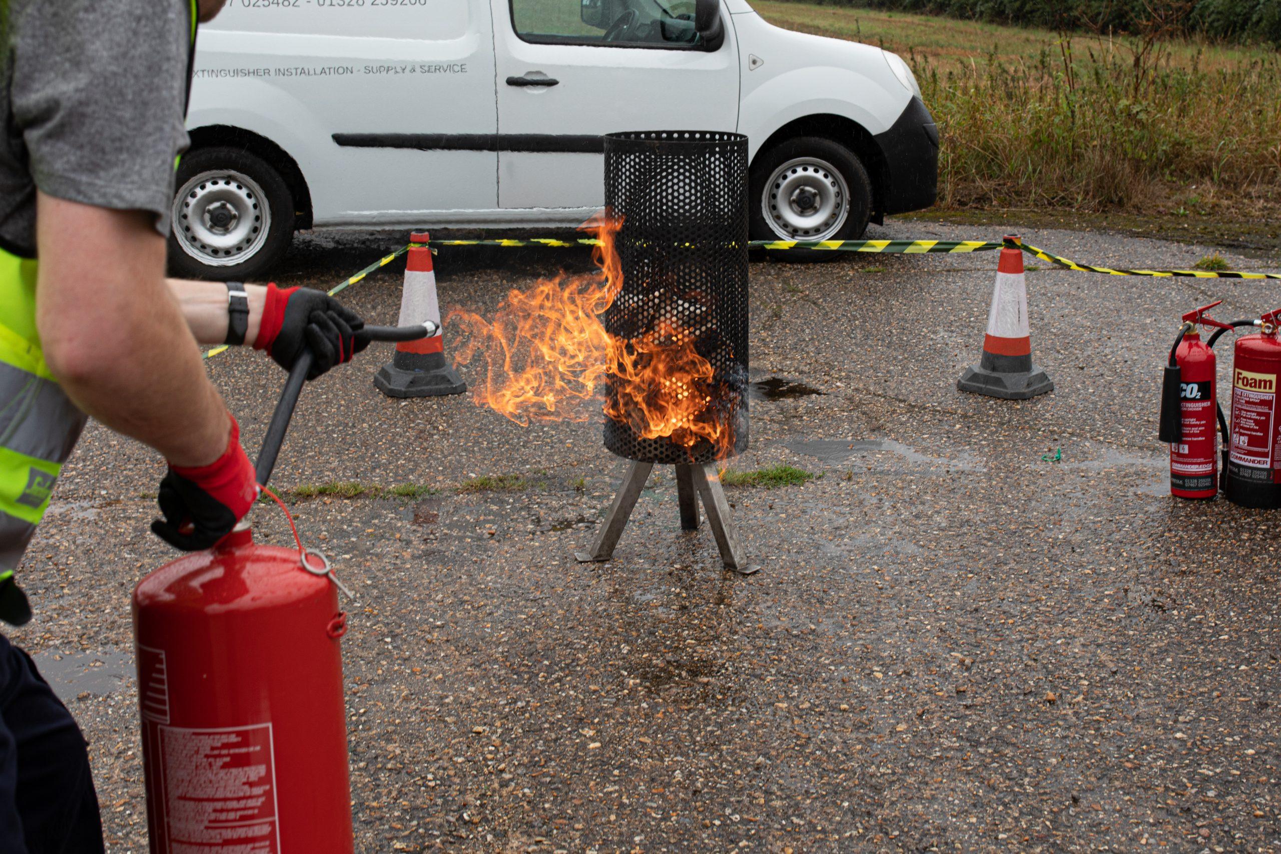 Norfolk Staff Fire Training