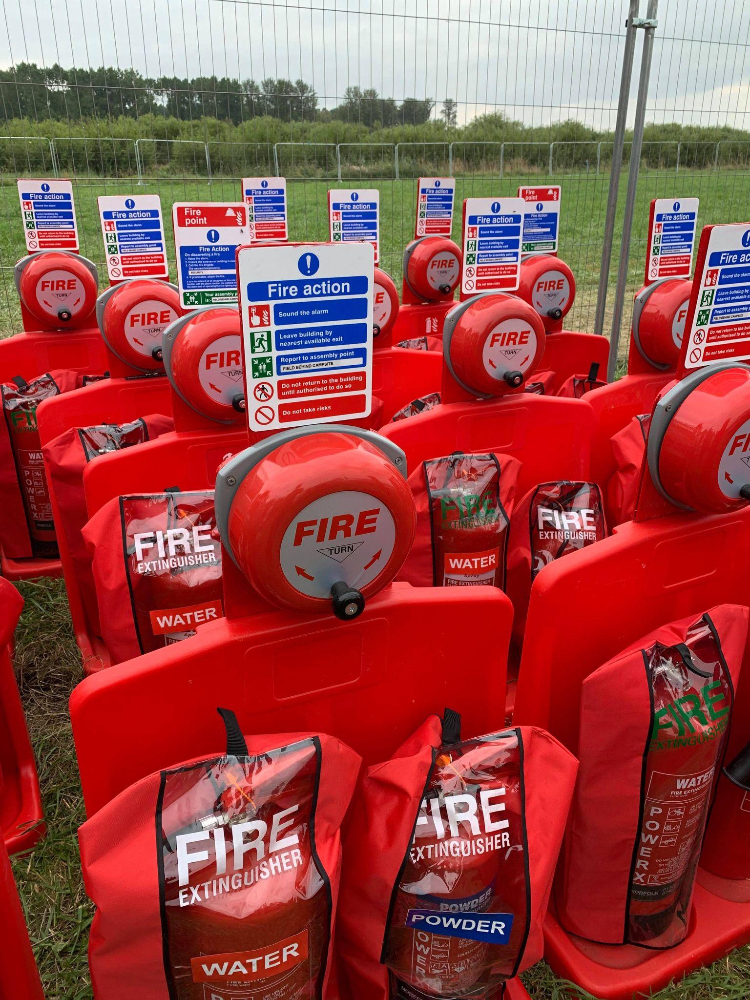 Norfolk Fire Extinguisher Event Hire