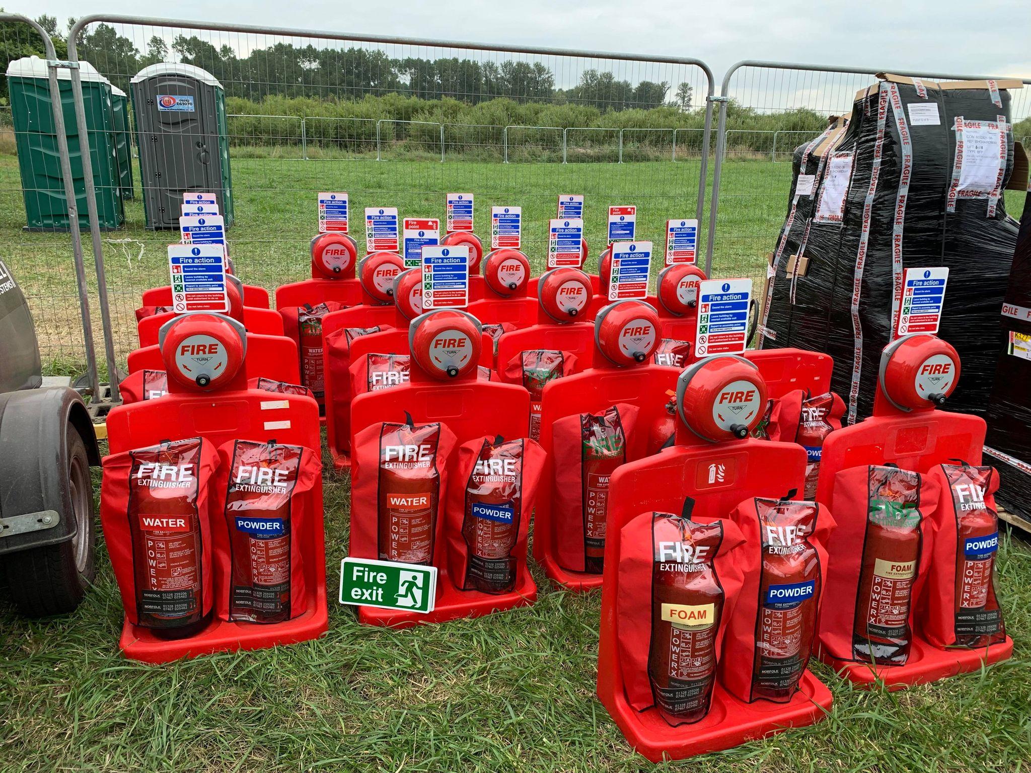 Norfolk Fire Extinguisher Hire